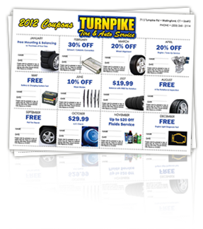 Turnpike Tire and Auto Coupons